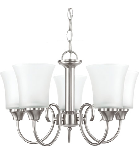 Sea Gull 39808BLE-962 Holman 5 Light 20 inch Brushed Nickel Chandelier Ceiling Light photo