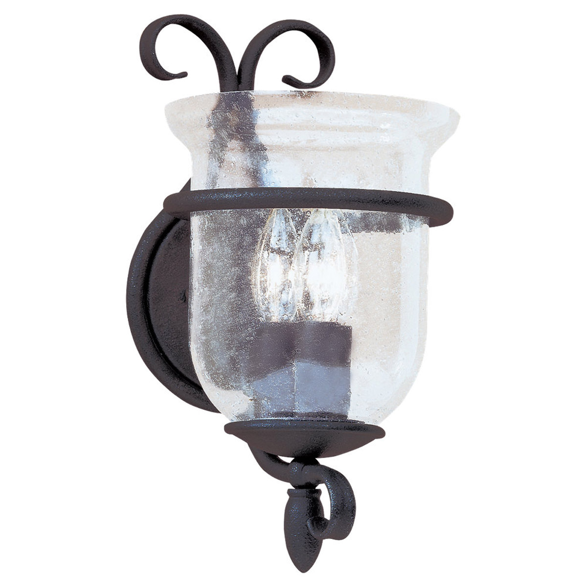Sea Gull Lighting Manor House 3 Light Bath Vanity in Weathered Iron 4000-07