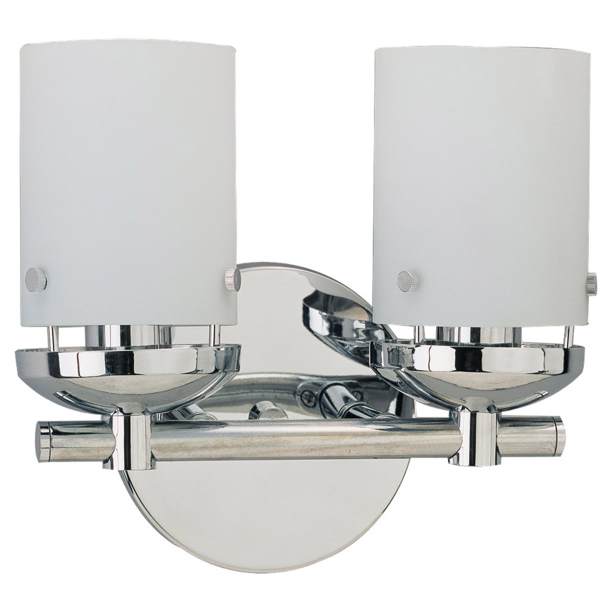 Sea Gull 40044-05 Bliss 2 Light 11 inch Chrome Bath Vanity Wall Light photo