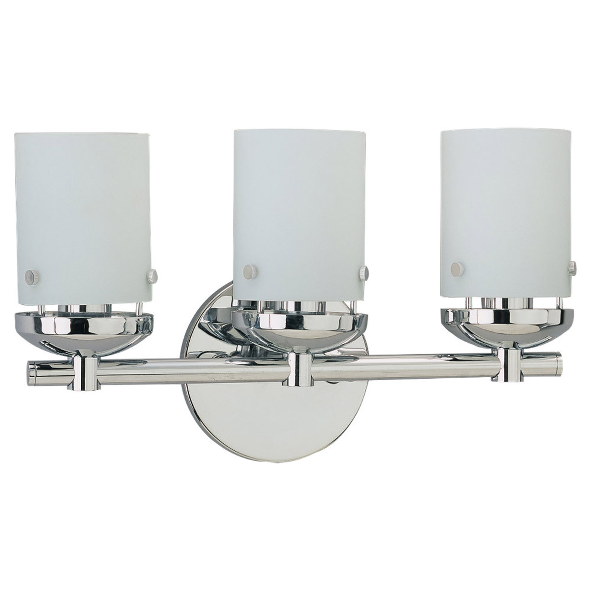 Sea Gull Lighting Bliss 3 Light Bath Vanity in Chrome 40045-05