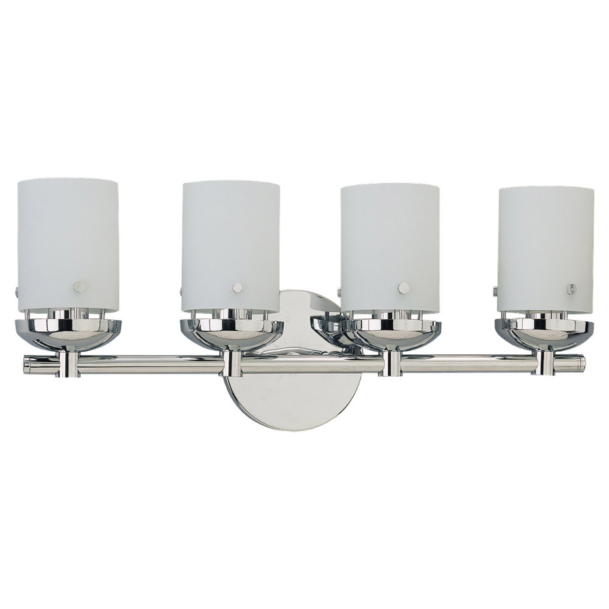 Sea Gull Lighting Bliss 4 Light Bath Vanity in Chrome 40046-05
