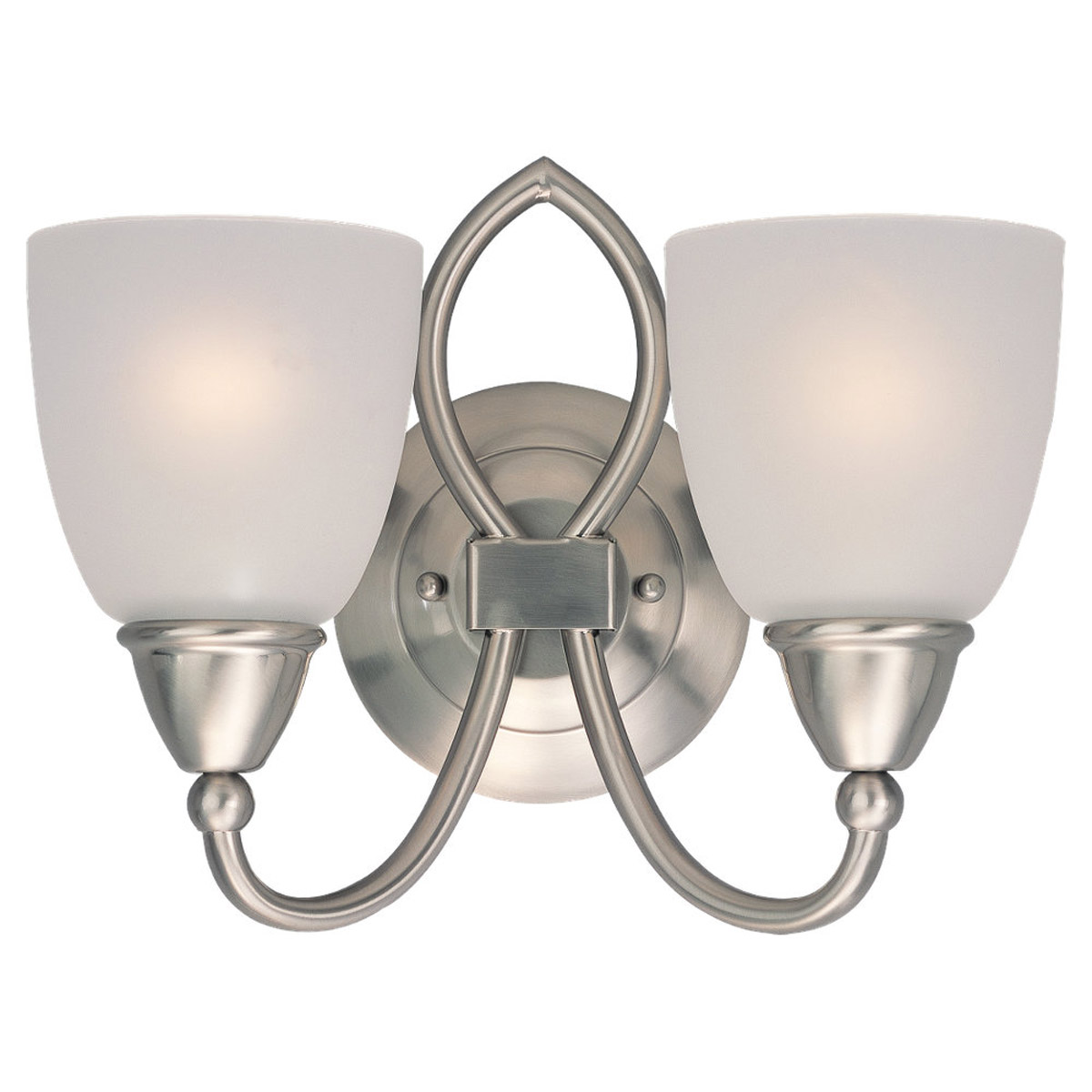 Sea Gull Lighting Pemberton 2 Light Bath Vanity in Brushed Nickel 40074-962 photo