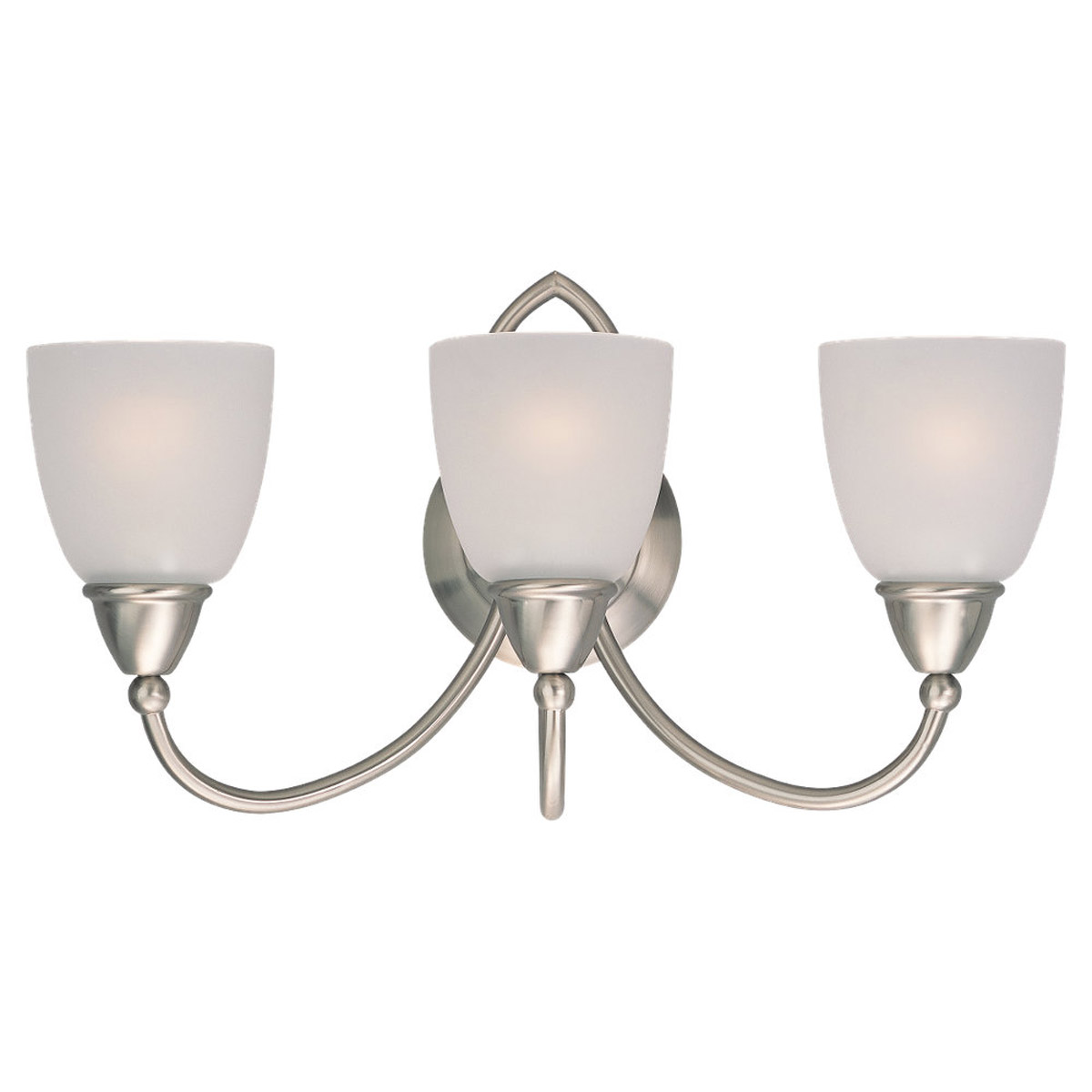 Sea Gull Lighting Pemberton 3 Light Bath Vanity in Brushed Nickel 40075-962