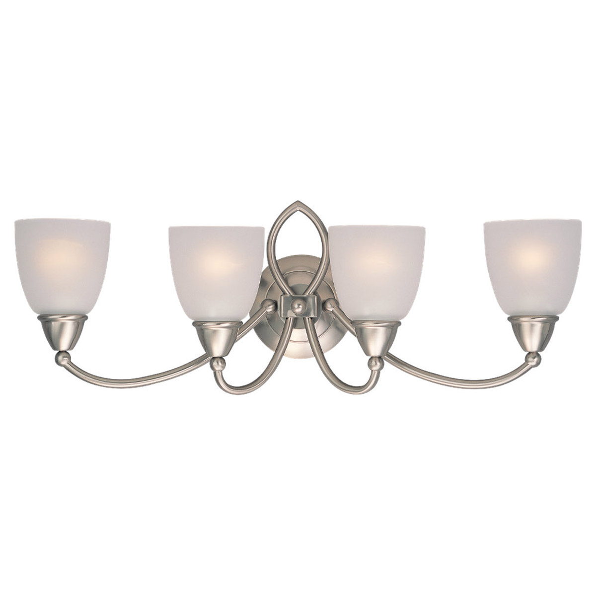 Sea Gull Lighting Pemberton 4 Light Bath Vanity in Brushed Nickel 40076-962