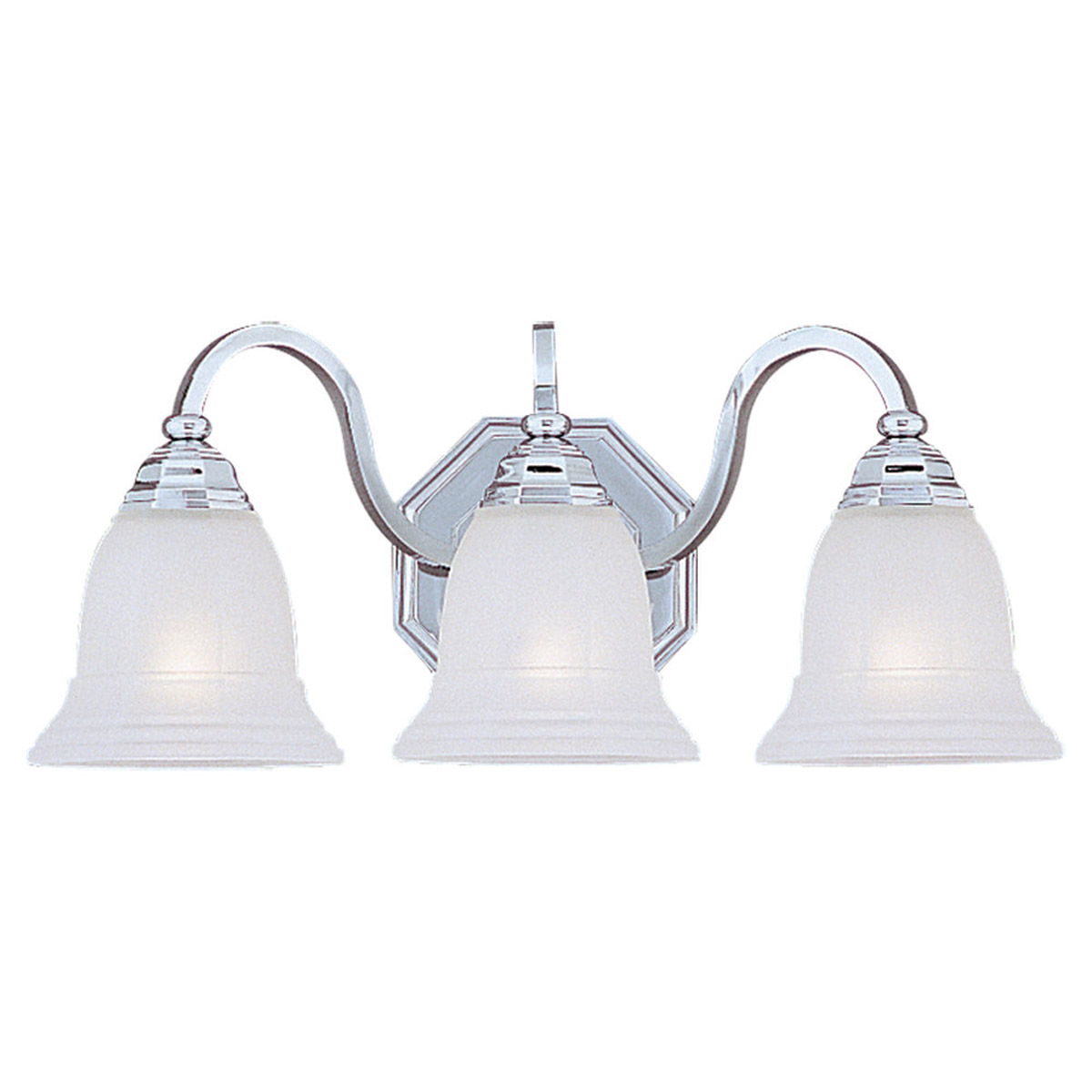 Sea Gull Lighting Blakely 3 Light Bath Vanity in Chrome 4059-05