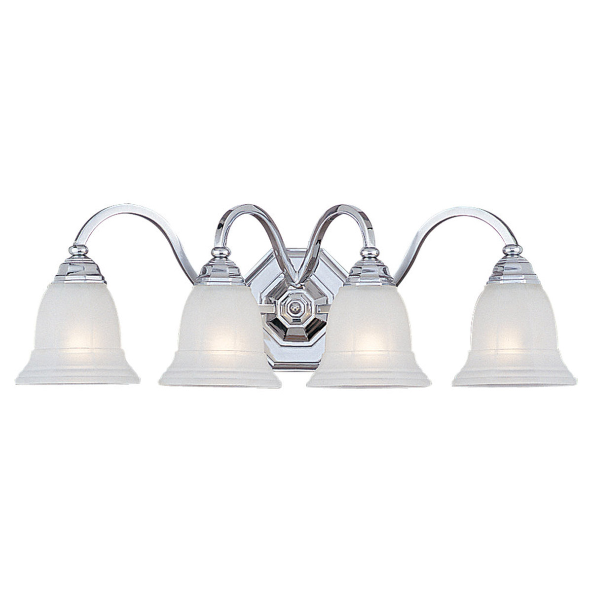 Sea Gull Lighting Blakely 4 Light Bath Vanity in Chrome 4060-05