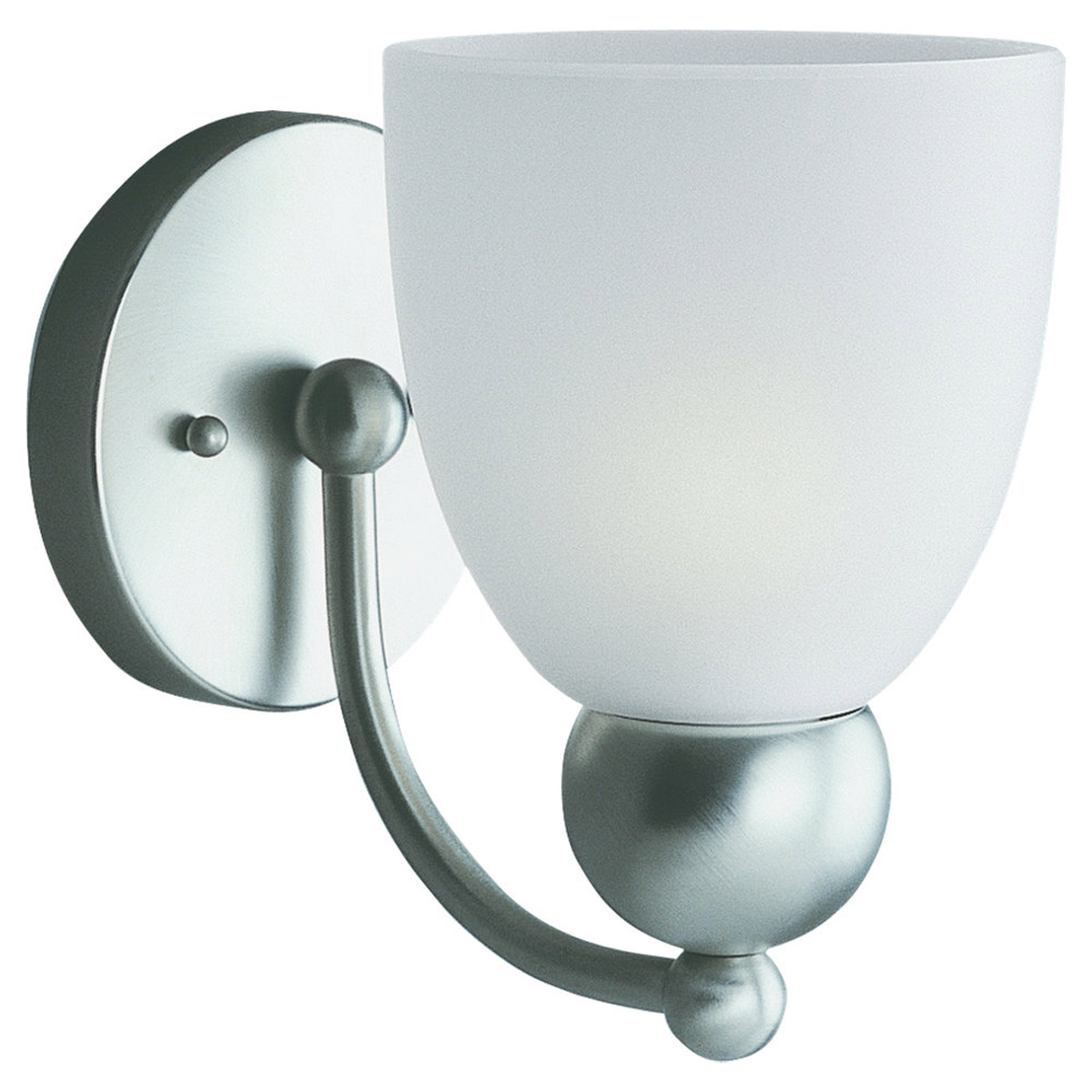 Sea Gull Lighting Metropolis 1 Light Bath Vanity in Brushed Nickel 41035-962