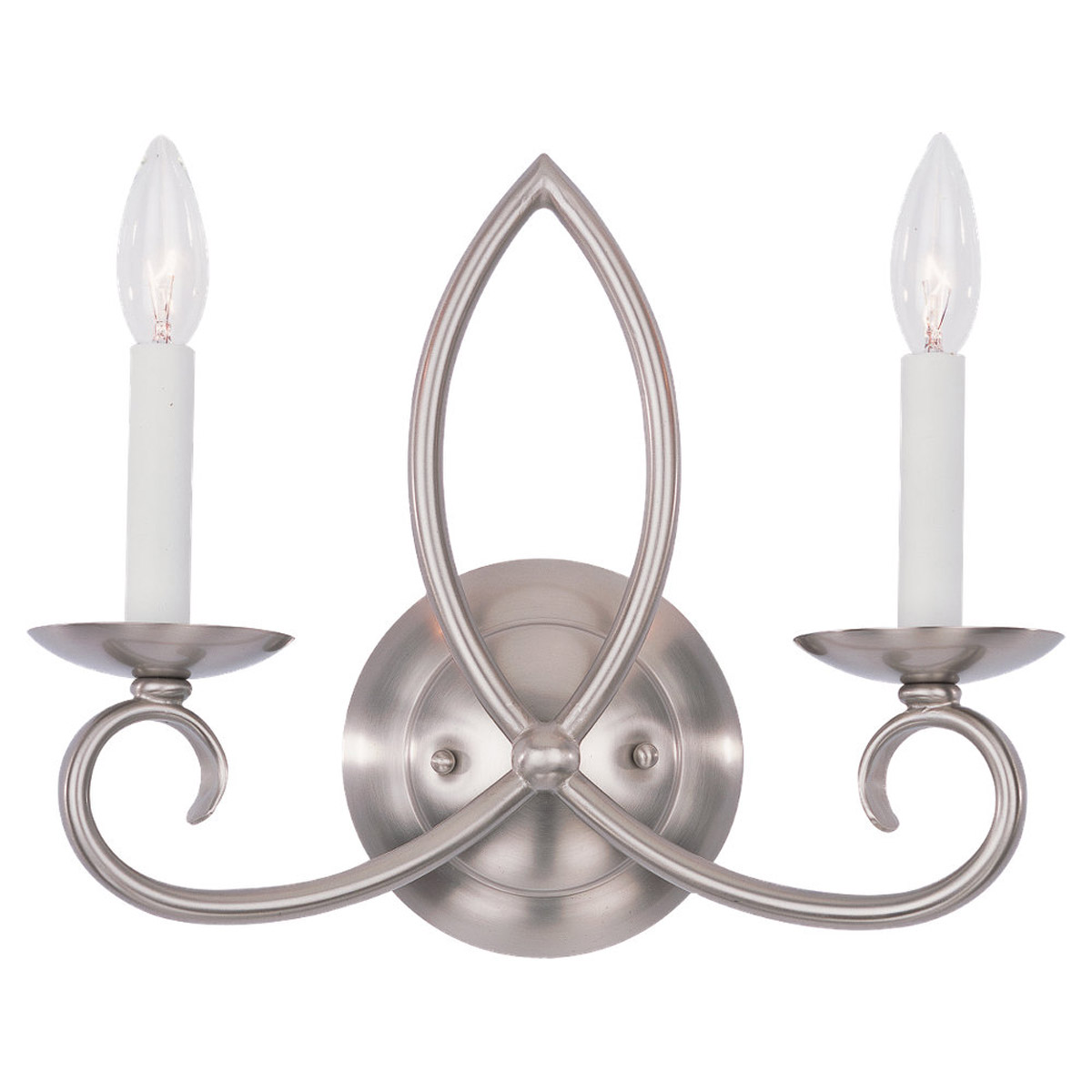 Sea Gull Lighting Pemberton 2 Light Bath Vanity in Brushed Nickel 41074-962 photo