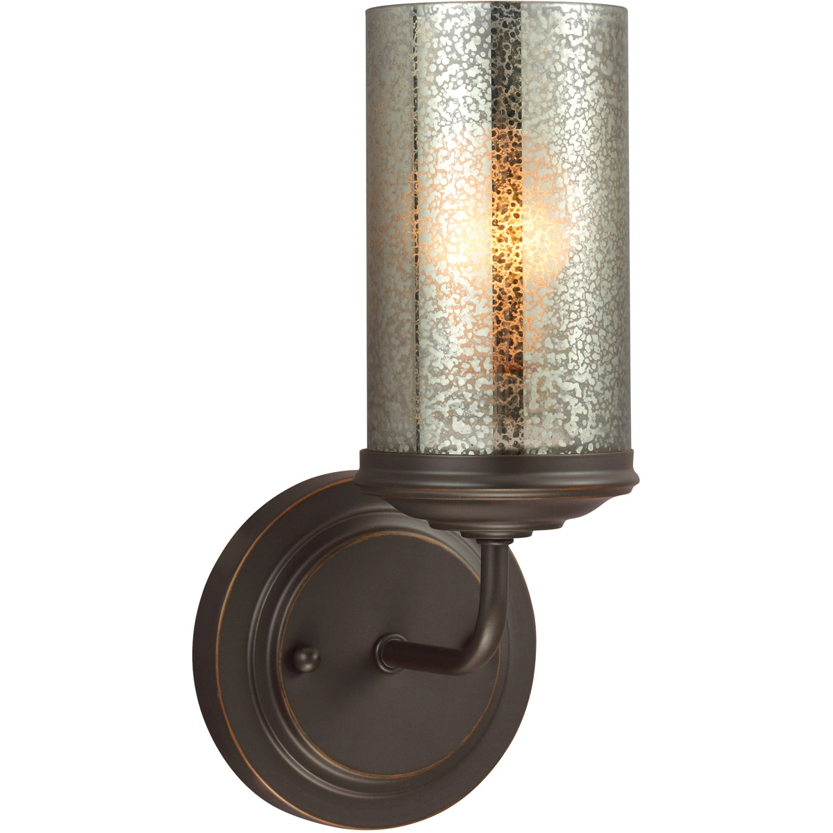 Sea Gull Sfera 1 Light Bath Sconce in Autumn Bronze 4110401-715