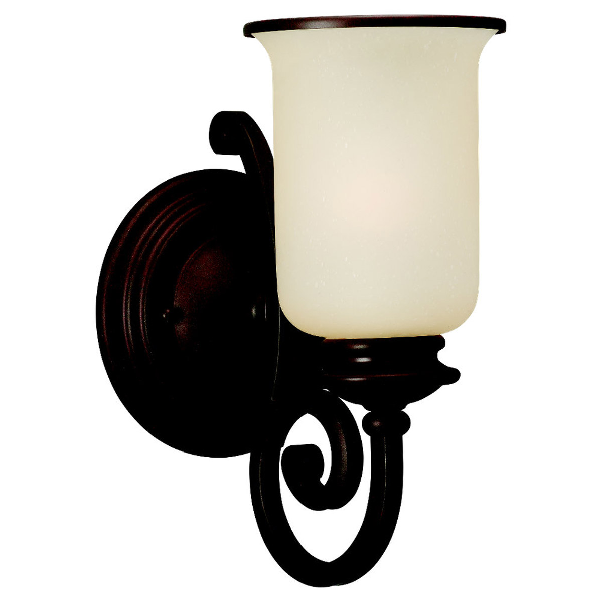 Sea Gull 41145-814 Acadia 1 Light 7 inch Misted Bronze Bath Vanity Wall Light in Standard photo