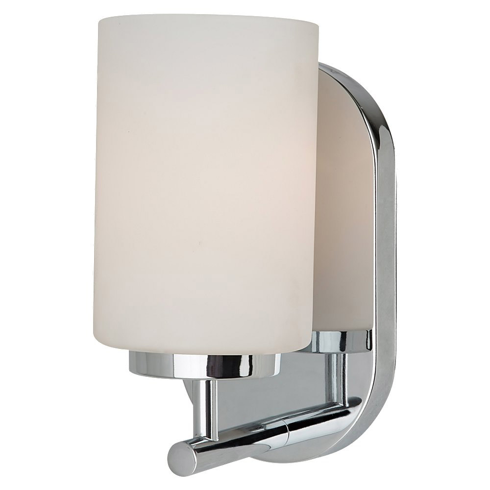 Sea Gull Lighting Oslo 1 Light Bath Vanity in Chrome 41160BLE-05