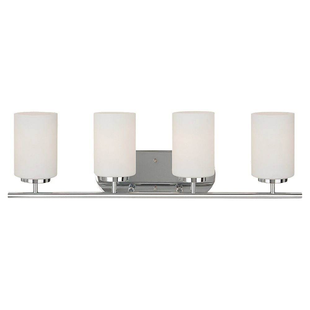Sea Gull Lighting Oslo 4 Light Bath Vanity in Chrome 41163BLE-05