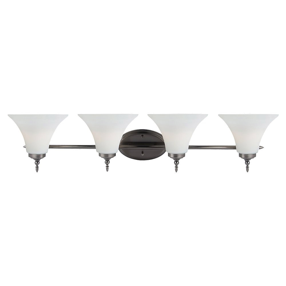 Sea Gull Lighting Montreal 4 Light Bath Vanity in Antique Brushed Nickel 41183-965