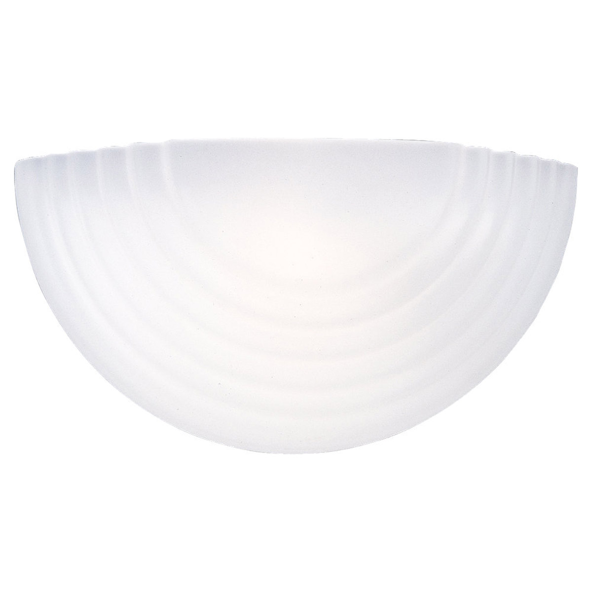 Sea Gull Lighting Signature 1 Light Bath Vanity in White 4123-15