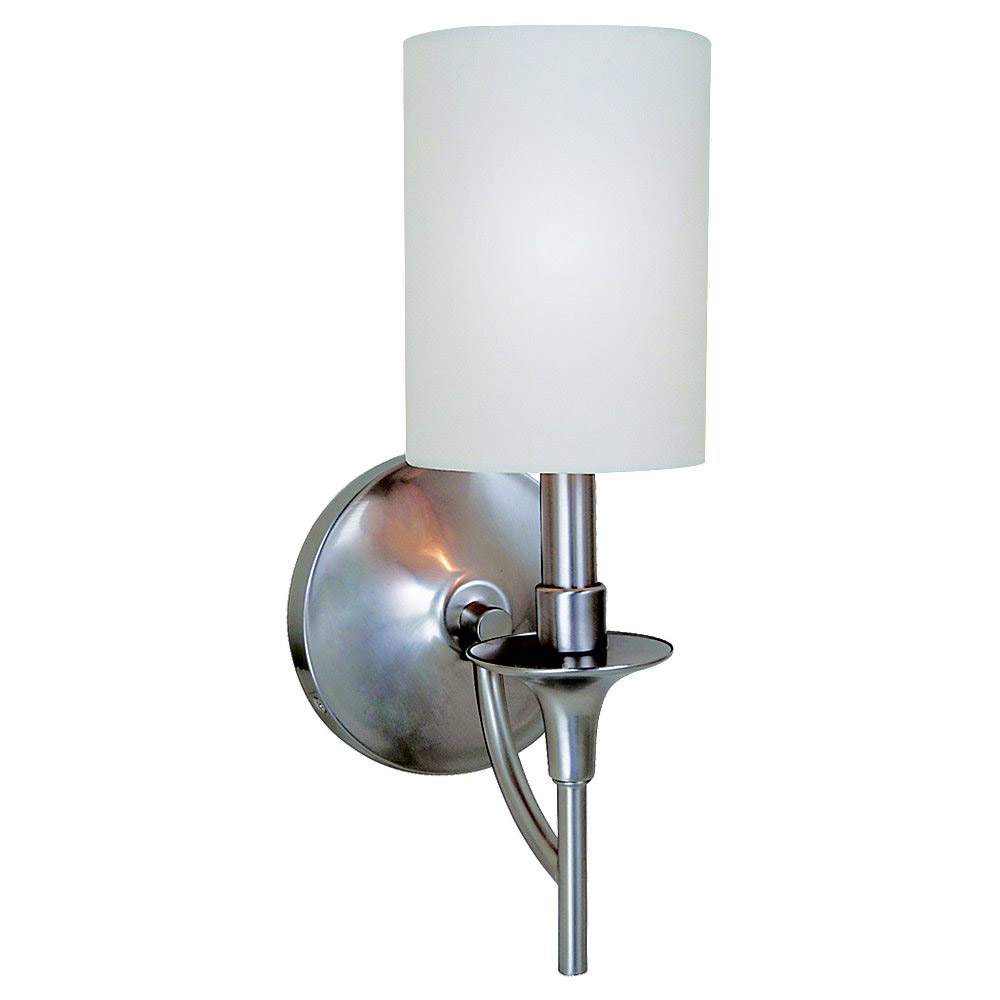 Sea Gull Lighting Stirling 1 Light Bath Vanity in Brushed Nickel 41260-962