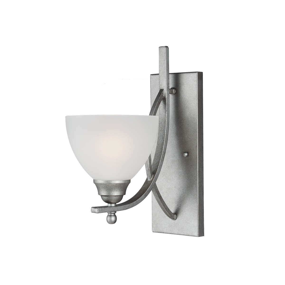 Sea Gull Vitelli 1 Light Bath Sconce in Weathered Pewter 4131401BLE-57 photo