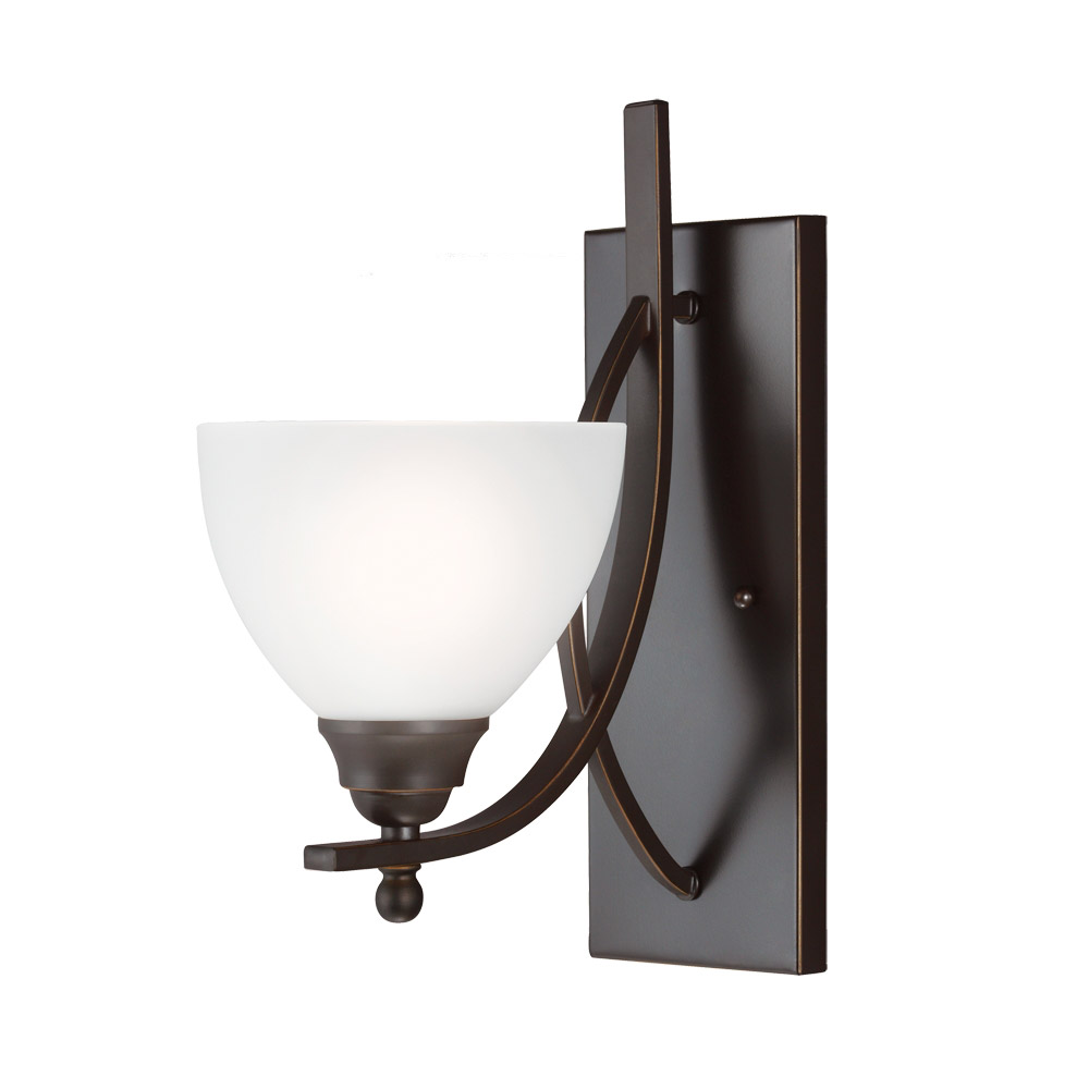 Sea Gull Vitelli 1 Light Bath Sconce in Autumn Bronze 4131401BLE-715 photo