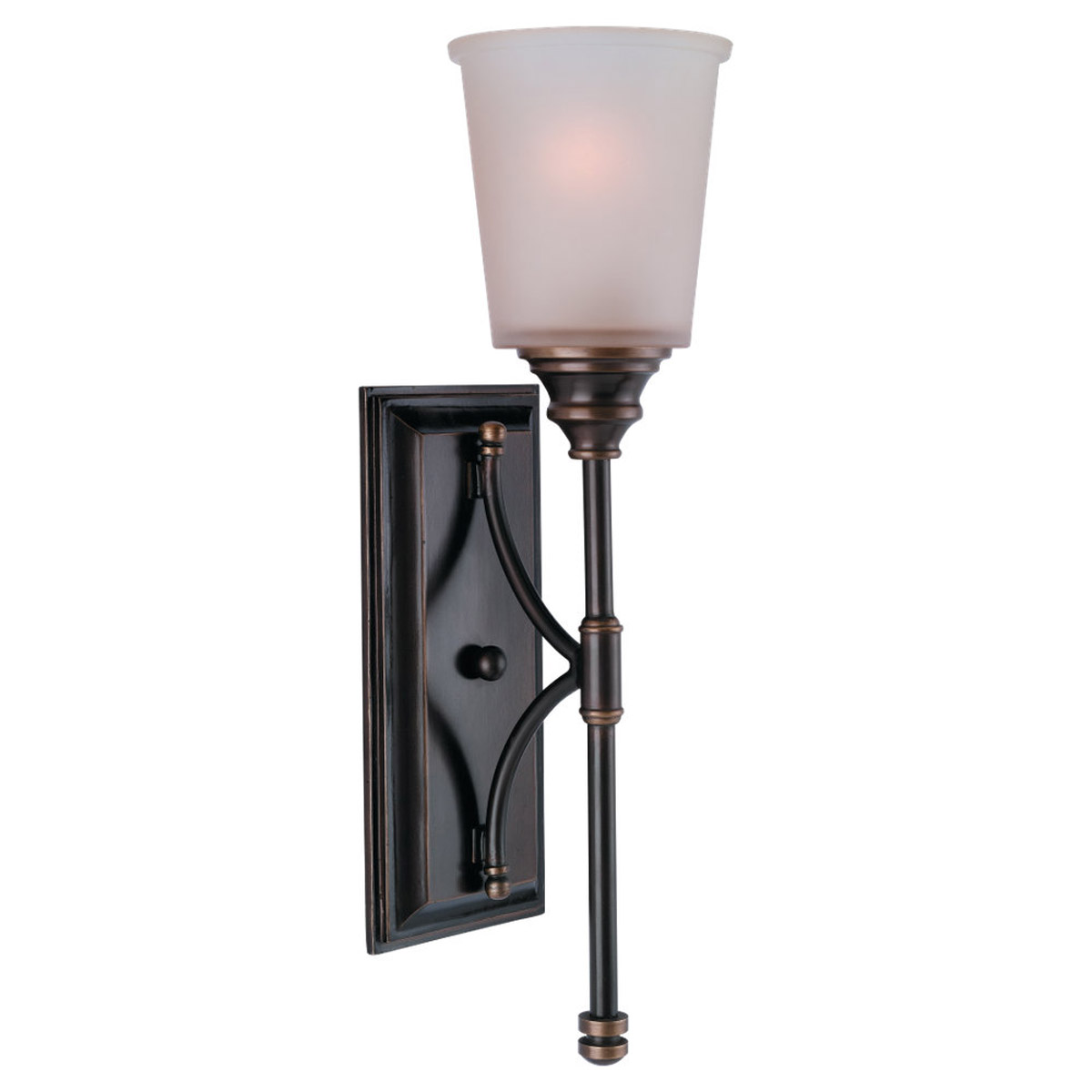 Sea Gull Lighting Warwick 1 Light Bath Vanity in Vintage Bronze 41330-825