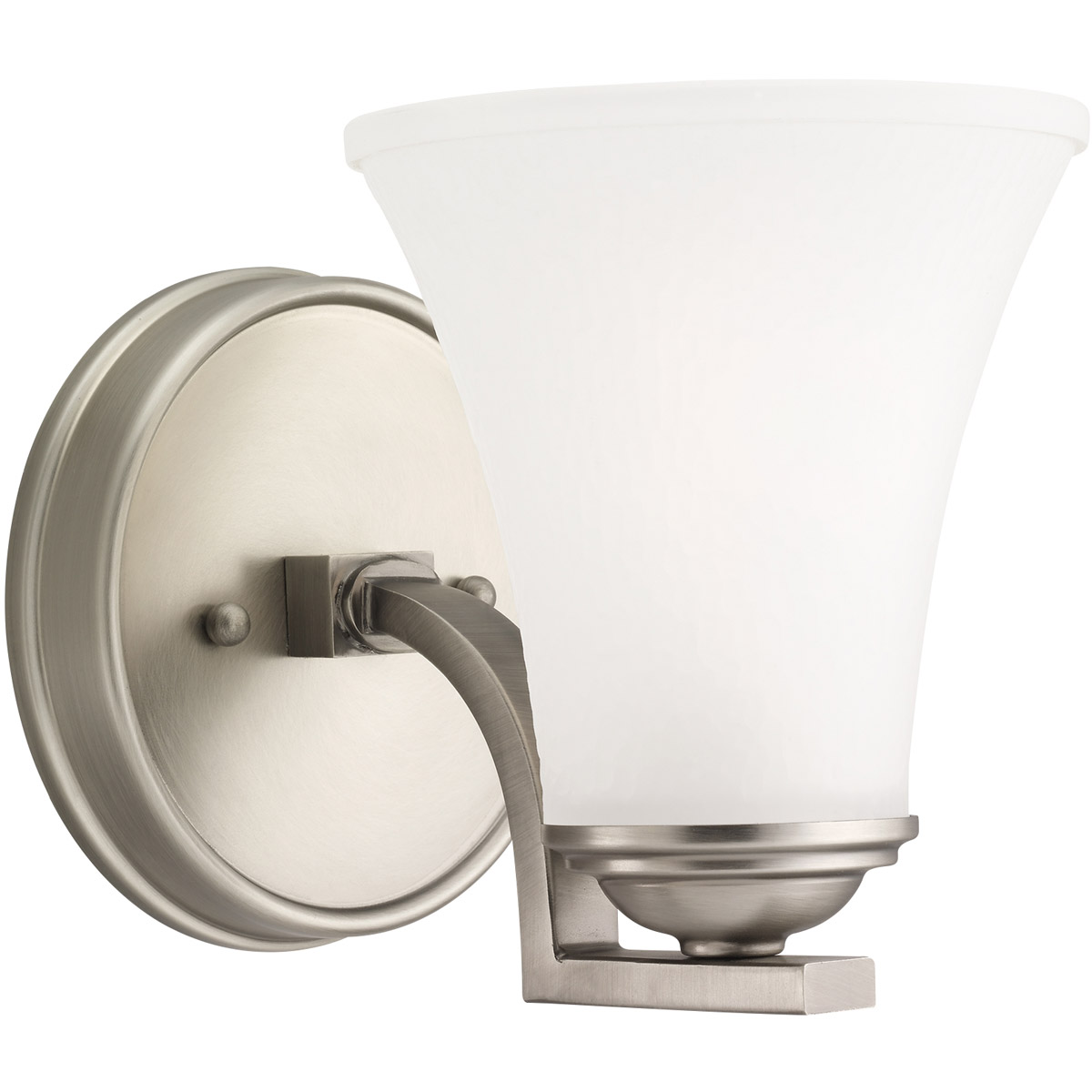 Sea Gull Lighting Somerton 1 Light Bath Vanity in Antique Brushed Nickel 41375-965 photo