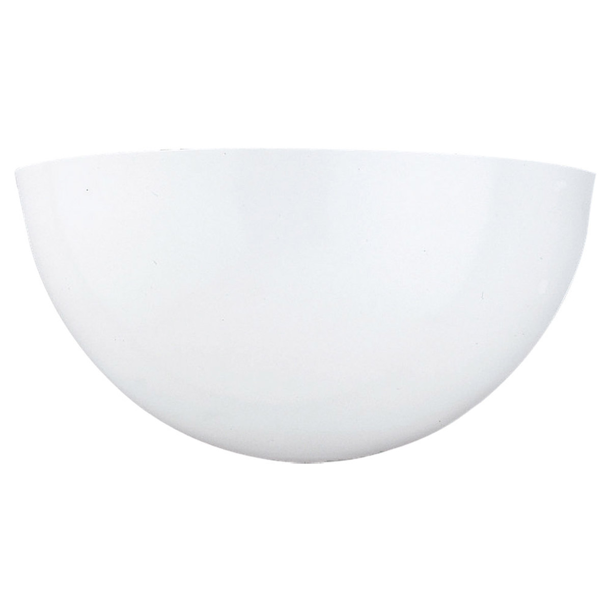 Sea Gull Lighting Signature 1 Light Bath Vanity in White 4148-15