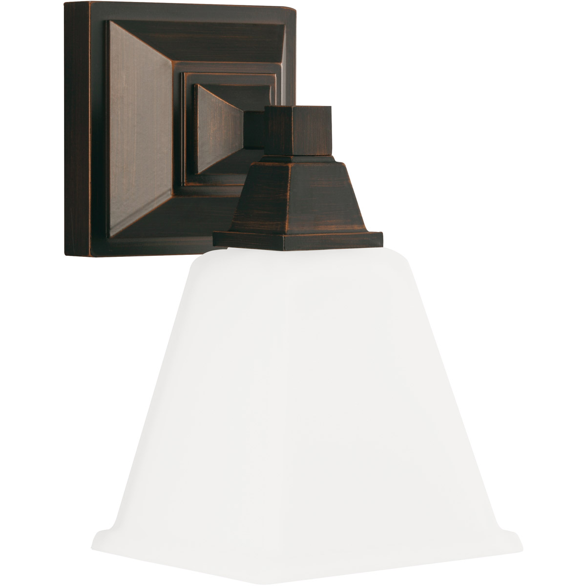 Sea Gull Denhelm 1 Light Bath Sconce in Burnt Sienna 4150401BLE-710