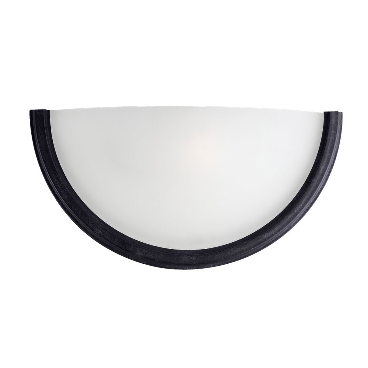 Sea Gull Lighting Winnetka 1 Light Bath Vanity in Blacksmith 41660-839