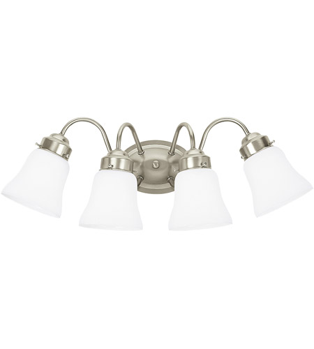 Sea Gull Lighting Westmont 4 Light Bath Vanity in Brushed Nickel 44021-962