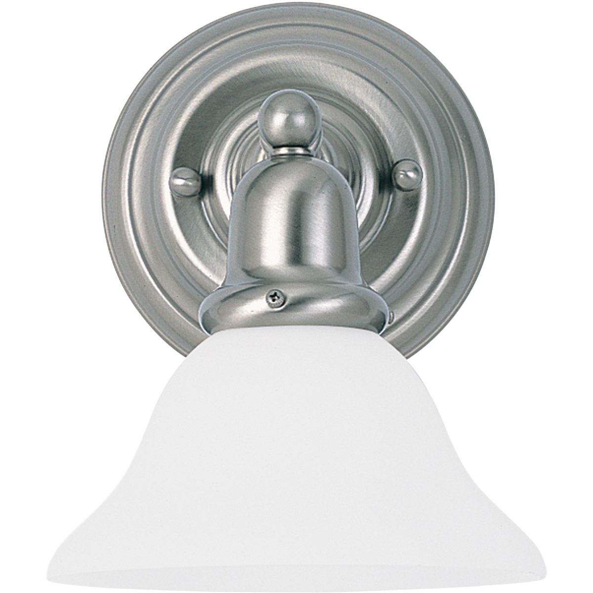 Sea Gull Lighting Sussex 1 Light Bath Vanity in Brushed Nickel 44060-962 photo