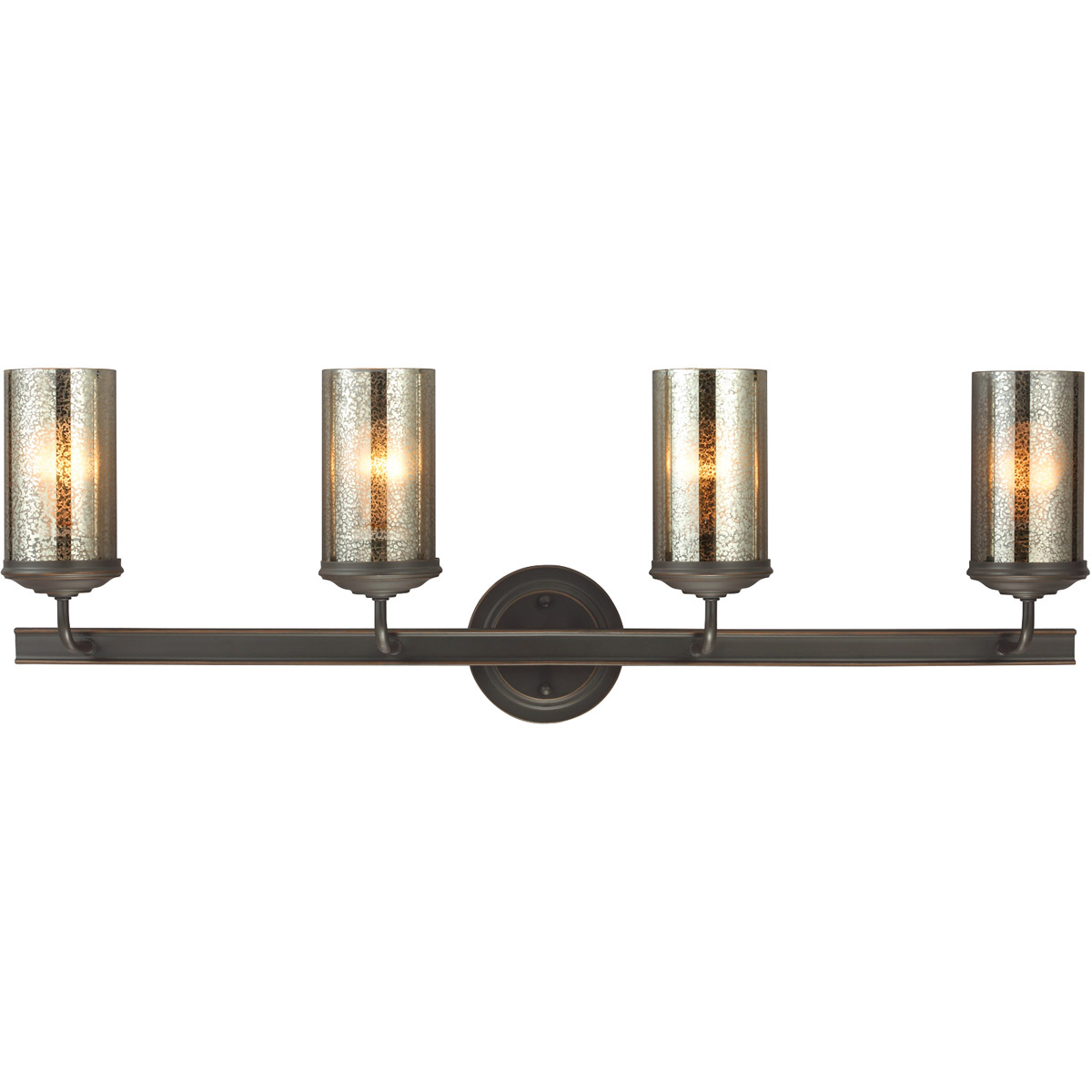 Sea Gull 4410404BLE-715 Sfera 4 Light 34 inch Autumn Bronze Bath Vanity Wall Light in Fluorescent photo