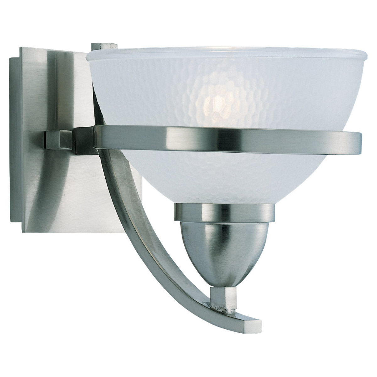 Sea Gull Lighting Eternity 1 Light Bath Vanity in Brushed Nickel 44115-962