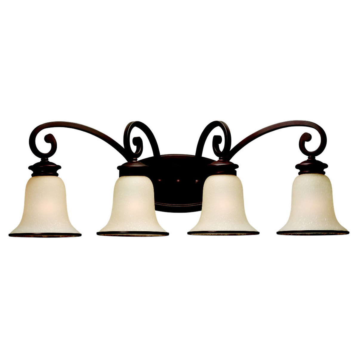 Sea Gull 44147-814 Acadia 4 Light 31 inch Misted Bronze Bath Vanity Wall Light in Standard photo