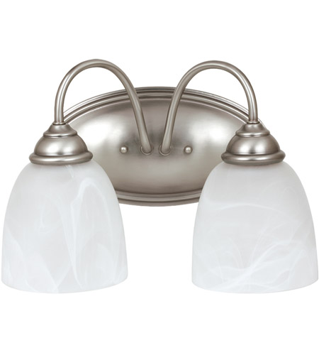 Sea Gull Lemont 2 Light Bath Light in Antique Brushed Nickel 44317-965 photo