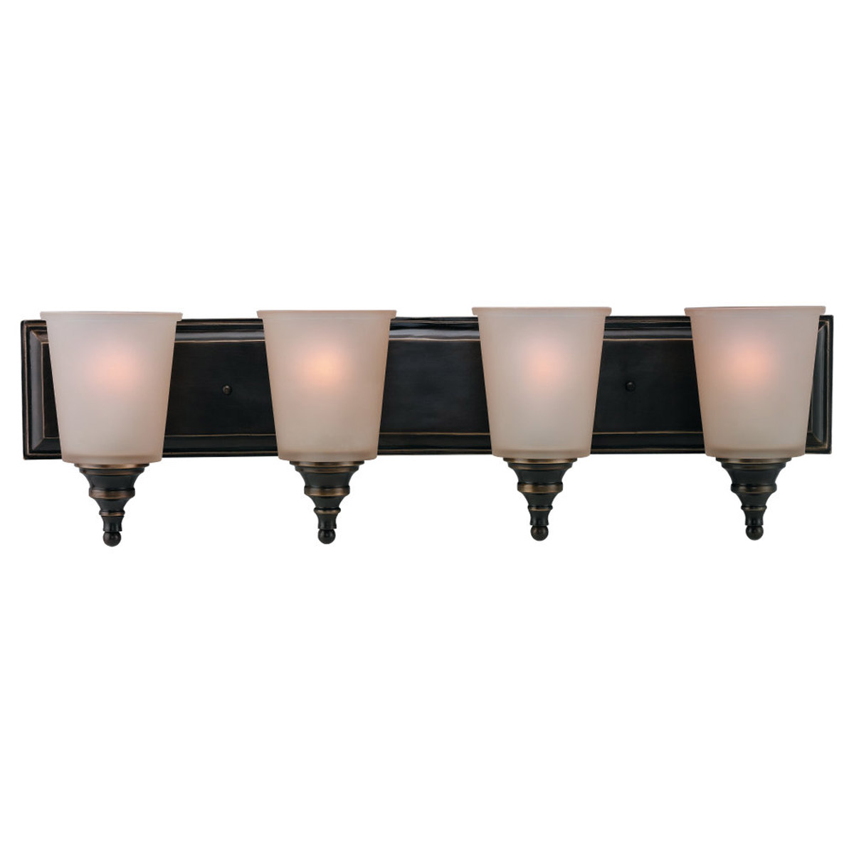 Sea Gull Lighting Warwick 4 Light Bath Vanity in Vintage Bronze 44332-825