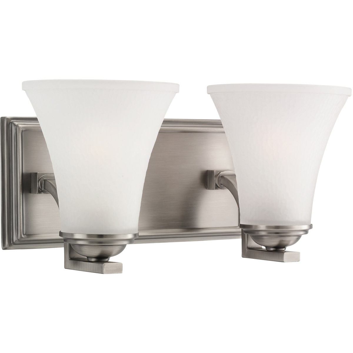 Sea Gull Lighting Somerton 2 Light Bath Vanity in Antique Brushed Nickel 44375-965