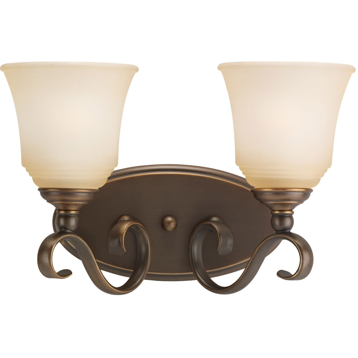 Sea Gull Lighting Parkview 2 Light Bath Vanity in Russet Bronze 44380-829 photo