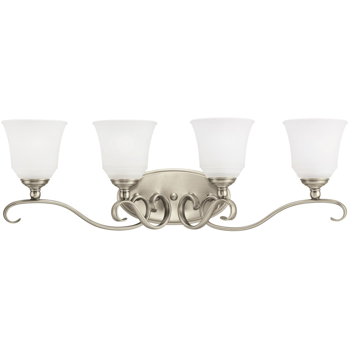 Sea Gull Lighting Parkview 4 Light Bath Vanity in Antique Brushed Nickel 44382-965 photo