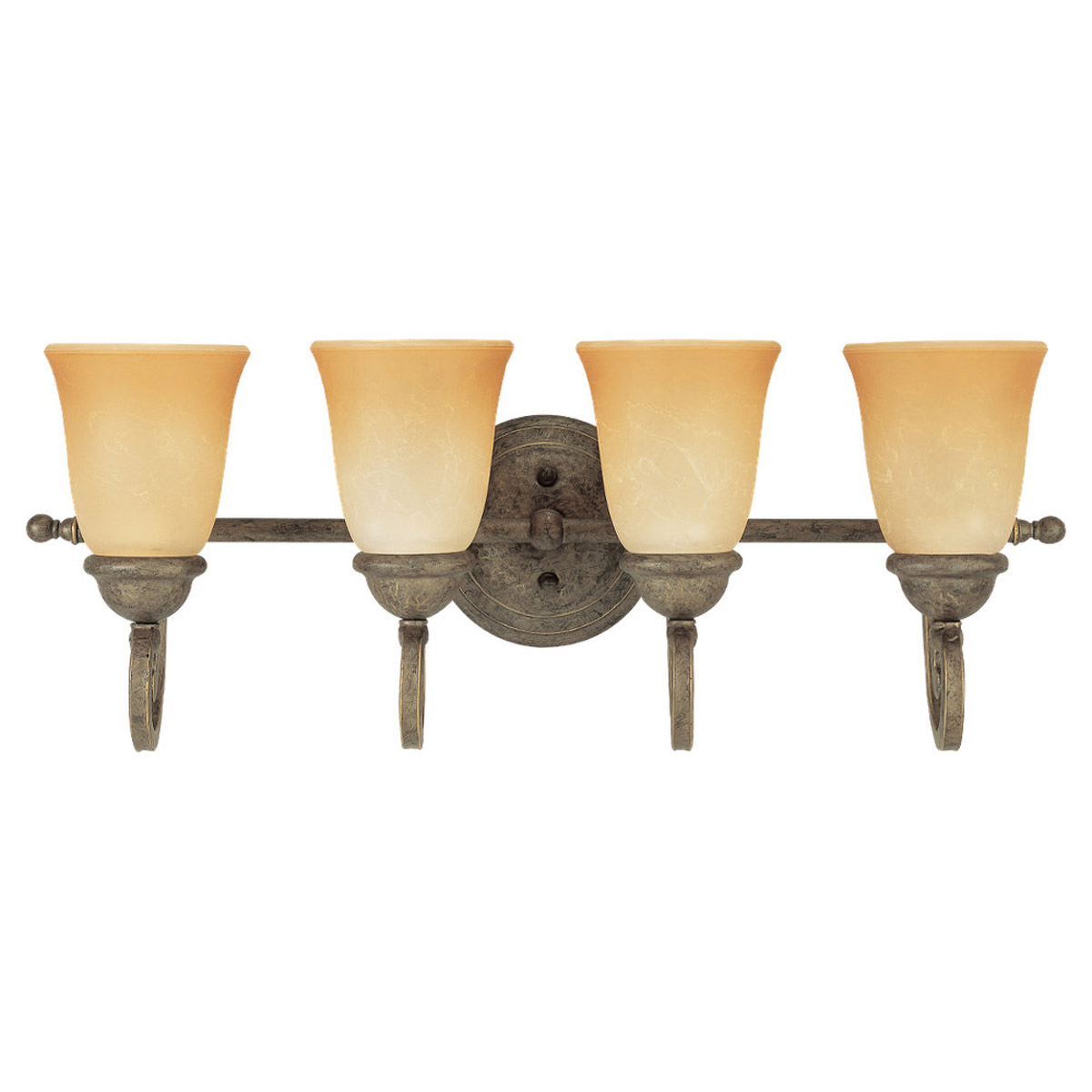 Sea Gull Lighting Brandywine 4 Light Bath Vanity in Antique Bronze 44432-71