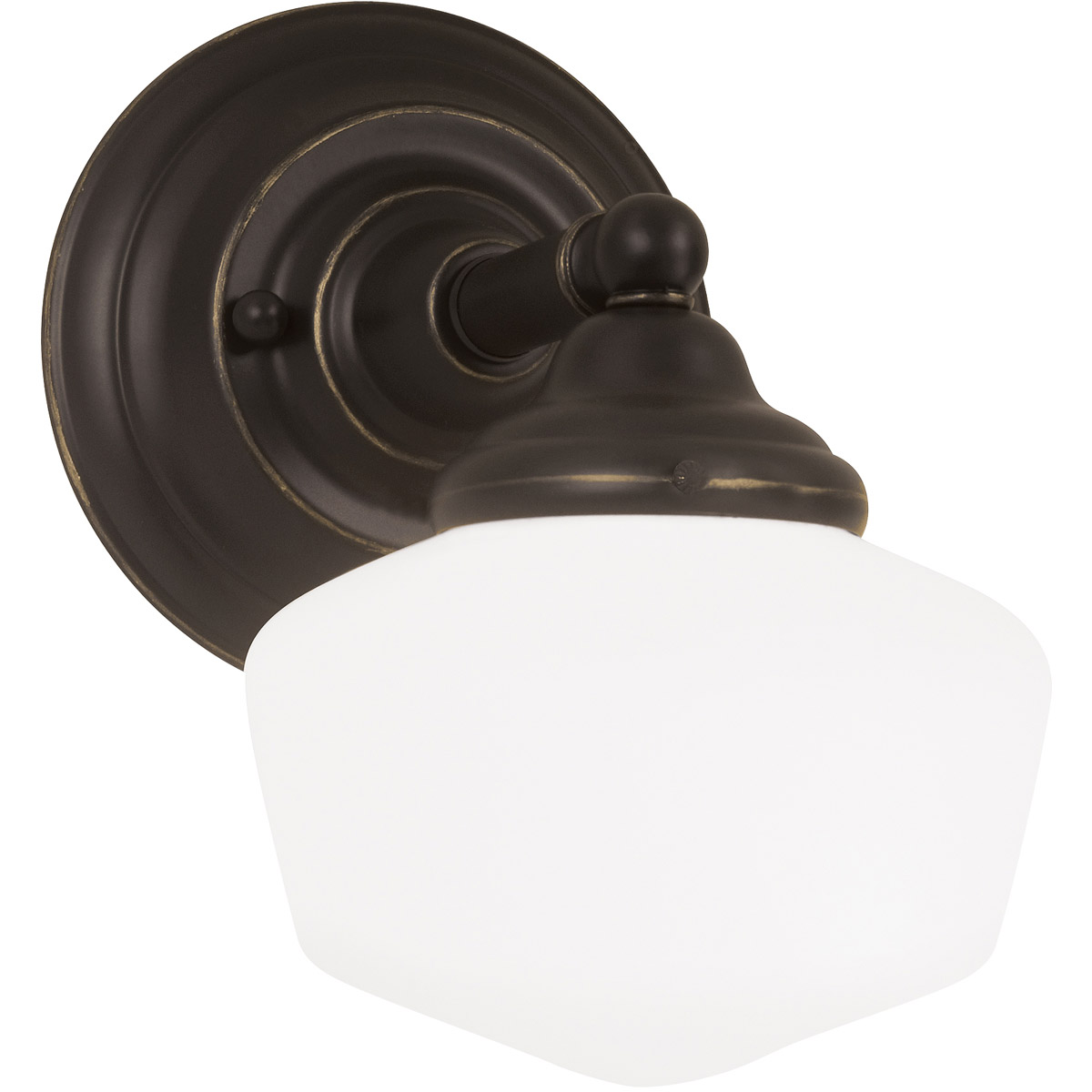 Sea Gull 44436-782 Academy 1 Light 7 inch Heirloom Bronze Bath Sconce Wall Light in Standard photo