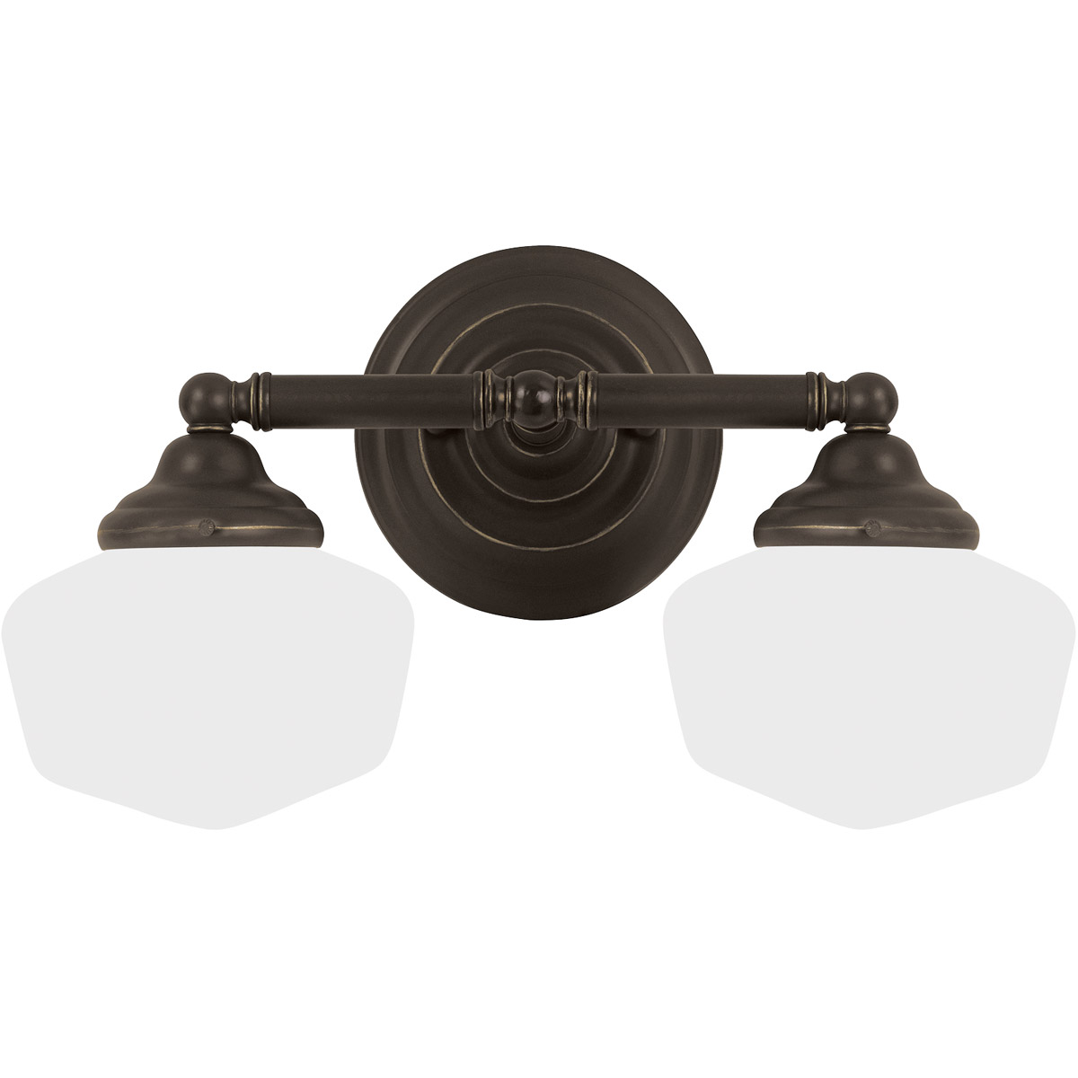 Sea Gull Academy 2 Light Bath Vanity in Heirloom Bronze 44437-782