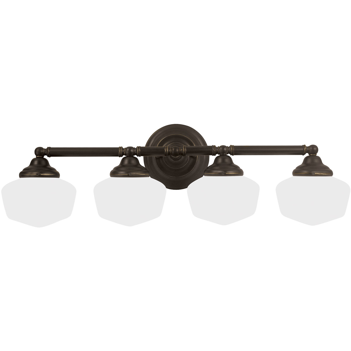 Sea Gull Academy 4 Light Bath Vanity in Heirloom Bronze 44439-782