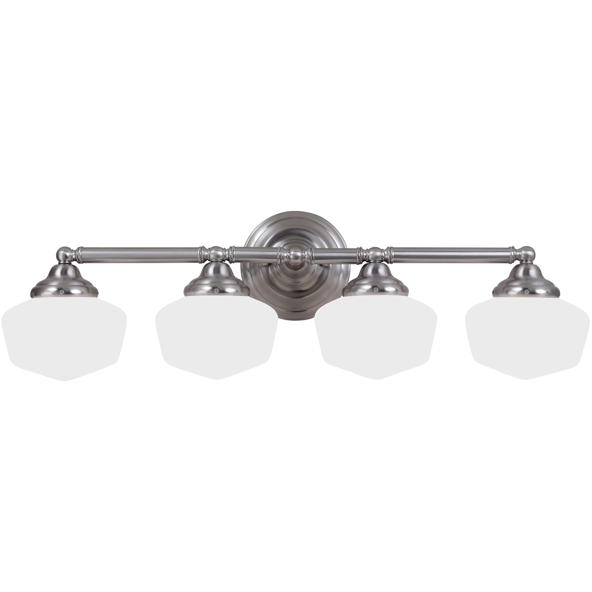 Sea Gull 44439-962 Academy 4 Light 32 inch Brushed Nickel Bath Vanity Wall Light in Standard photo