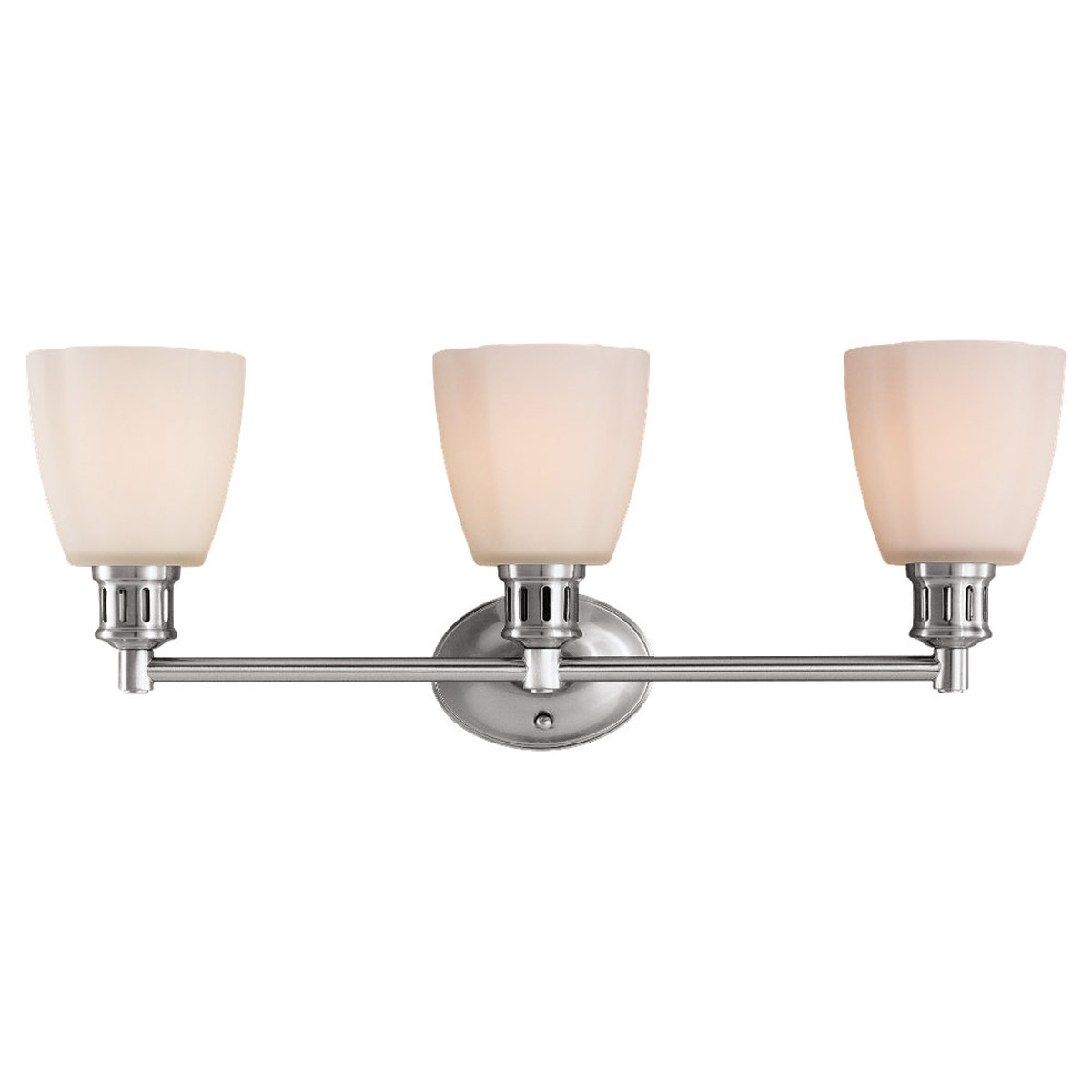 Sea Gull Lighting Century 3 Light Bath Vanity in Brushed Nickel 44475-962