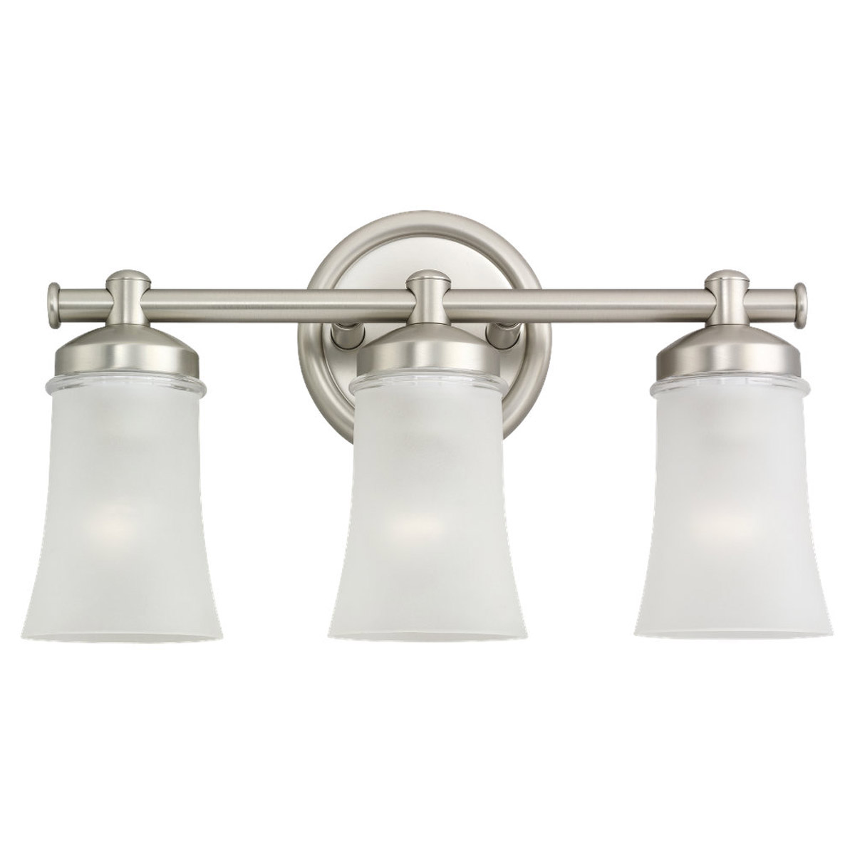 Sea Gull 44484BLE-965 Newport 3 Light 18 inch Antique Brushed Nickel Bath Vanity Wall Light in Fluorescent photo