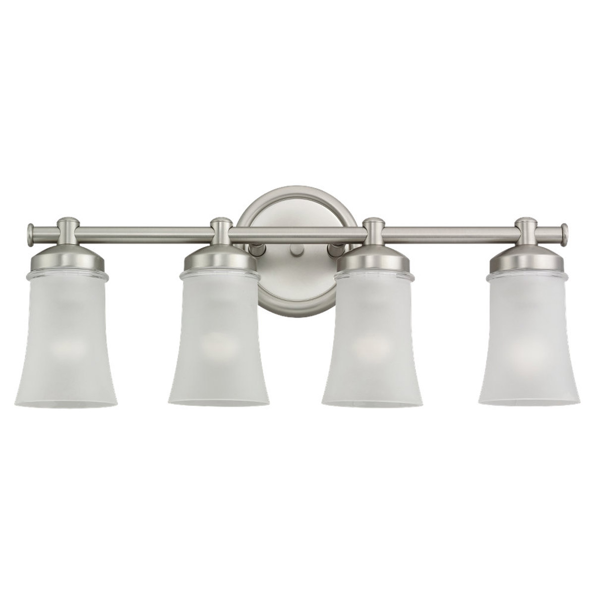 Sea Gull 44485BLE-965 Newport 4 Light 24 inch Antique Brushed Nickel Bath Vanity Wall Light in Fluorescent photo