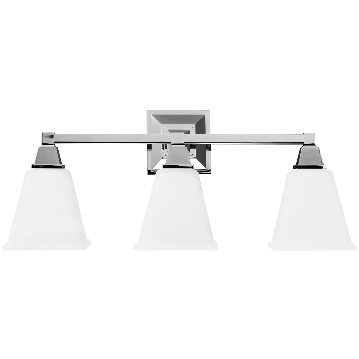 Sea Gull Denhelm 3 Light Bath Vanity in Chrome 4450403BLE-05