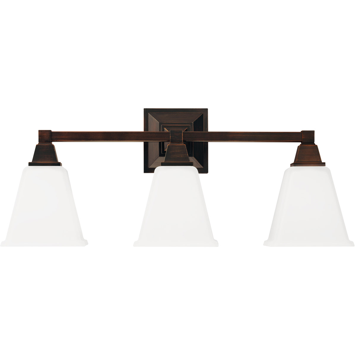 Sea Gull Denhelm 3 Light Bath Vanity in Burnt Sienna 4450403-710 photo