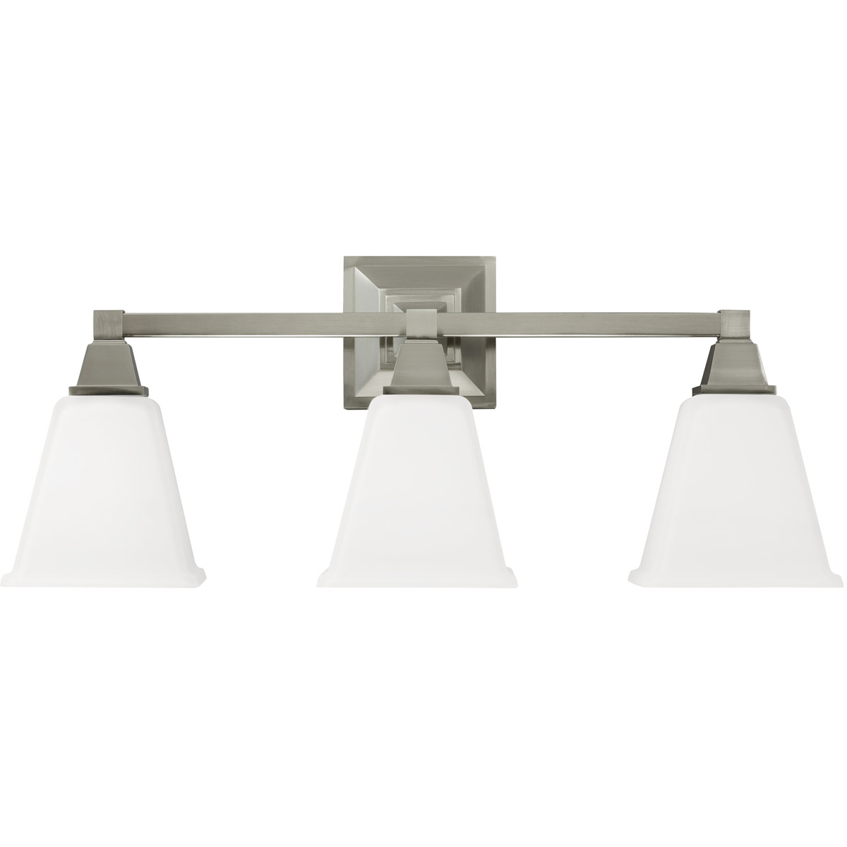 Sea Gull Denhelm 3 Light Bath Vanity in Brushed Nickel 4450403-962