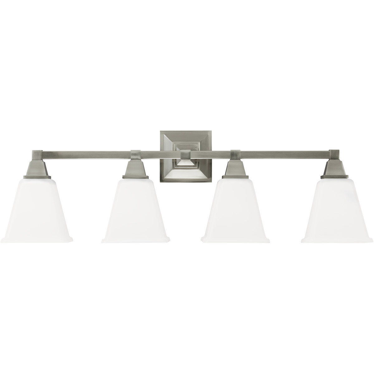 Sea Gull 4450404-962 Denhelm 4 Light 32 inch Brushed Nickel Bath Vanity Wall Light photo