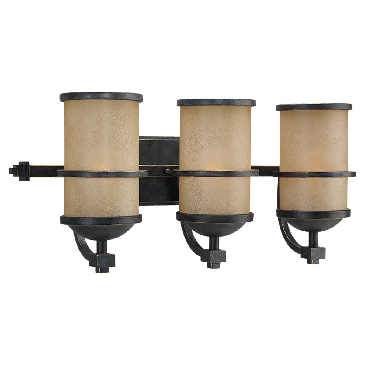 Sea Gull Roslyn 3 Light Bath Vanity in Flemish Bronze 44522BLE-845