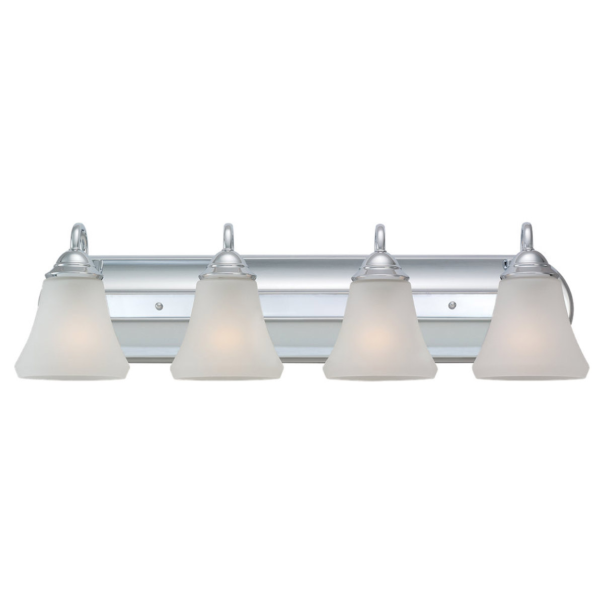 Sea Gull Lighting Fiona 4 Light Wall / Bath / Vanity in Chrome 44558-05